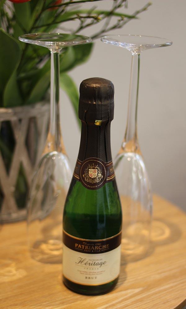 champagne-welkom